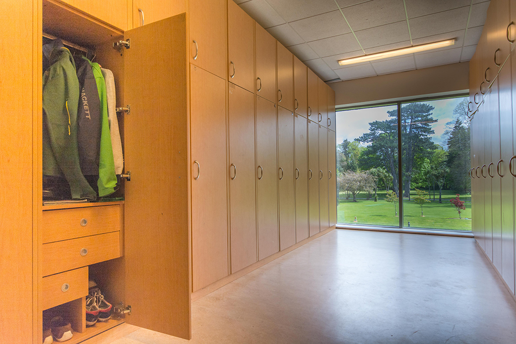 residential life -locker room